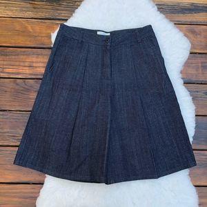 Folk Clothing Denim Culottes Size 3/Medium